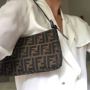 Fendi Zucca Shoulder Bag | MINT CONDITION